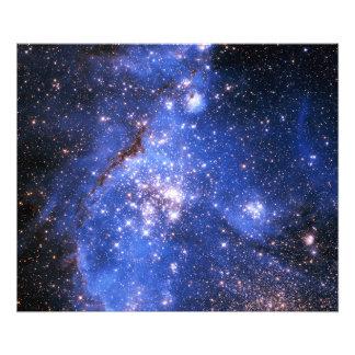 Falln blåttEmbrionic stjärnor Fototryck