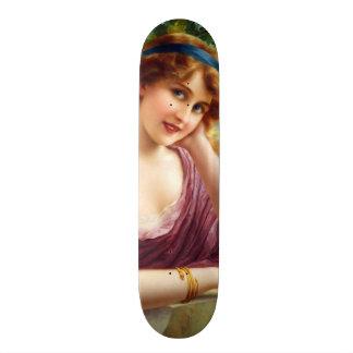 Falln gudinna av sommaren skateboard bräda 20,5 cm