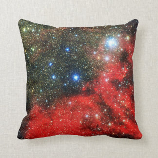 Falln guld dammad av galax kudde