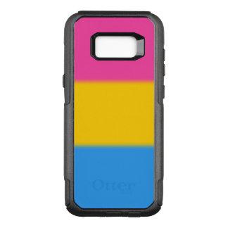 Falln Pansexual pride OtterBox Commuter Samsung Galaxy S8+ Skal