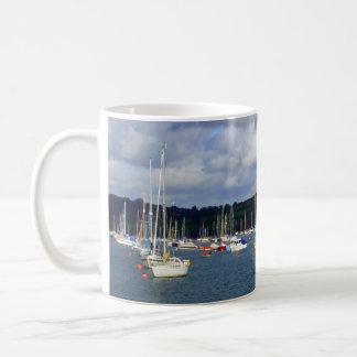 Falmouth hamn Cornwall Kaffemugg