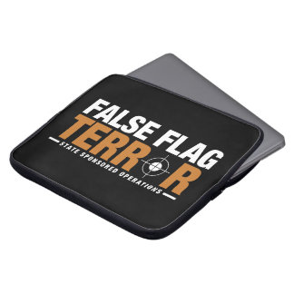 Falsk flaggaskräcklaptop sleeve laptopfodral
