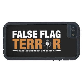 Falskt fodral för flaggaskräckiPhone 5 iPhone 5 Case-Mate Fodral