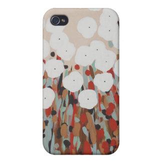 Fält av blommor iPhone 4 cases
