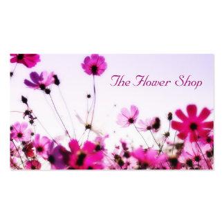 Fält av blommor visitkort