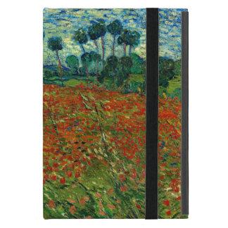 Fält med vallmor vid Van Gogh konst iPad Mini Skydd