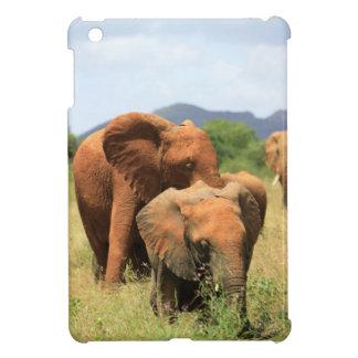 Familj av elefanter iPad mini fodral