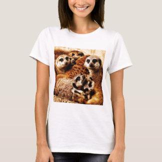 Familj av Meerkats Tee Shirts
