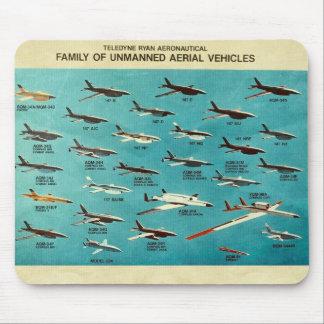Familj av obemannade flyg- fordon musmattor