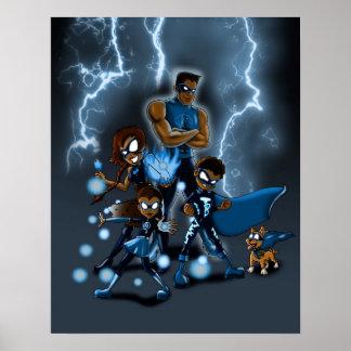 Familj av toppna hjältar poster