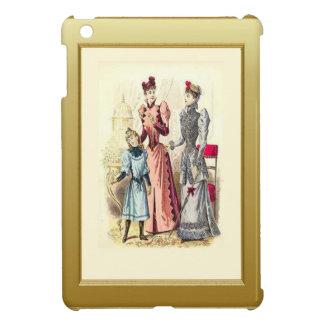 Familj hemma iPad mini skal