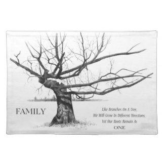 Familjeband: Gnarly träd: Rita teckningen, citatio Bordstablett