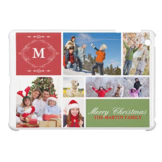 Familjen Julhälsningar iPad Mini Mobil Fodral