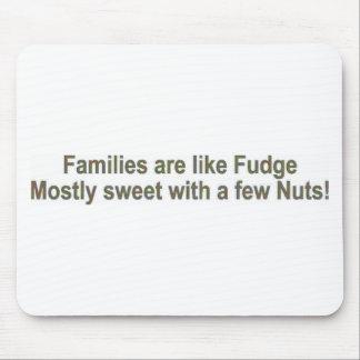 Familjer är lik fuskverk musmatta