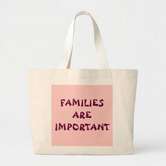 FAMILJER ÄR VIKTIGA TYGKASSAR