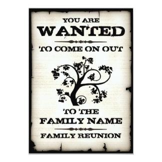 Familjmötet önskade inbjudningar
