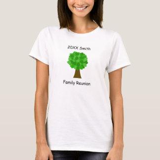 Familjmöteträd T-shirt