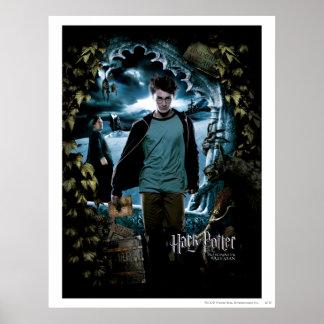 Fång av Azkaban - fransk 3 Affisch