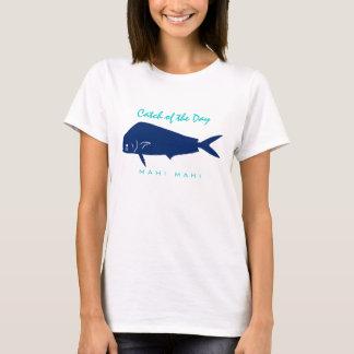 Fånga av dagen - den Mahi Mahi (delfin) T-tröja Tshirts