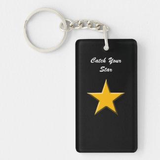 Fånga din stjärna nyckelring