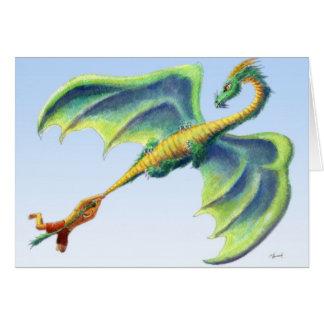 Fånga en drake 2 - studentenkortet hälsningskort