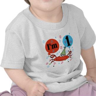 Fånga krabbor 1st födelsedagTshirts och Gfits Tee Shirt