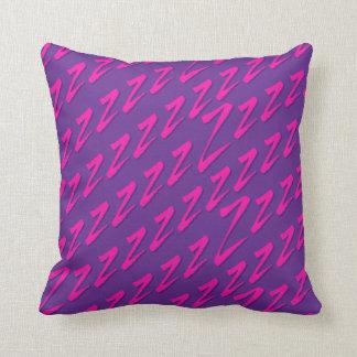 Fånga zs purpurfärgade rosor kudde