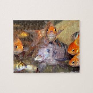 Fångade fiskar pussel