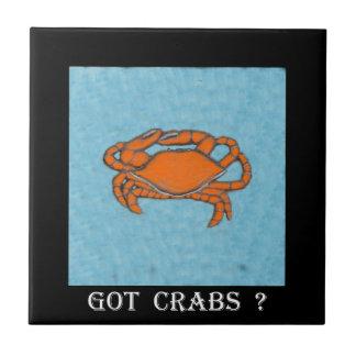 Fångar krabbor (Maryland, bukt och ostkust) .jpg Kakelplatta