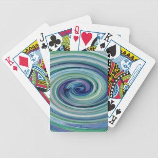 Fångat i en vinka spelkort