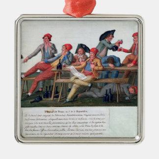 Fängelsedomstol av 2 & 3 September, 1792 Julgransprydnad Metall