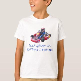 Fåniget Fullvuxen-Ups ungen Kart T Shirts