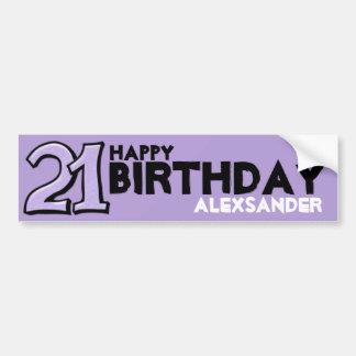 Fåniget numrerar klistermärken för födelsedagen