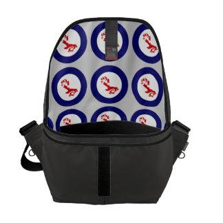 Fantail PIWAKAWAKA Roundel Messenger Bag