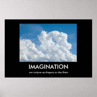 FantasiDemotivational affisch Poster