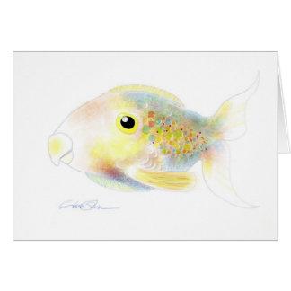 Fantasifisk: Polly Hälsningskort