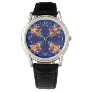 Fantasikaleidoscopemönster Armbandsur