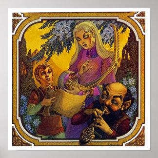 Fantasikonserttryck Poster