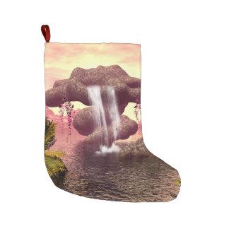 Fantasisjölandskap Stor Julstrumpa