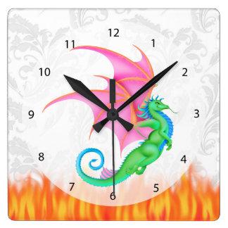 Fantasivän Fyrkantig Klocka