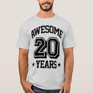 Fantastisk 20 år t shirts