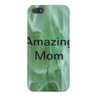 Fantastisk mamma iPhone 5 fodraler
