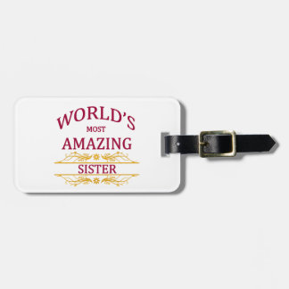 Fantastisk syster bagagebricka