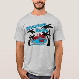 Fantomen radiosände bassängpartymanar T-tröja T Shirt