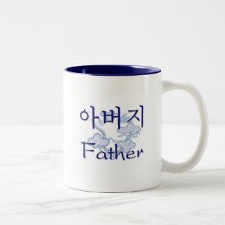 Far (korean) Två-Tonad mugg