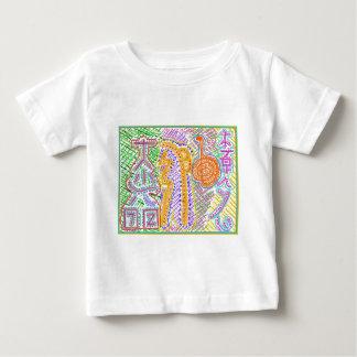 Färdiga Reiki bor symboler T Shirt