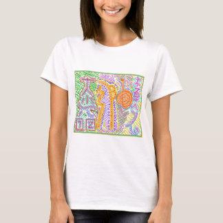 Färdiga Reiki bor symboler T-shirts