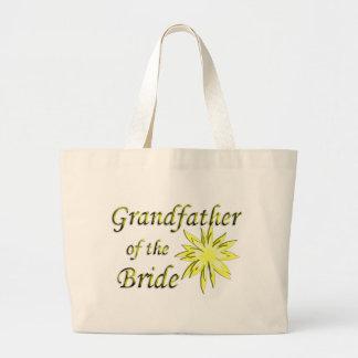 Farfar av bruden jumbo tygkasse