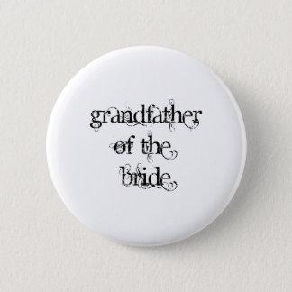 Farfar av bruden standard knapp rund 5.7 cm
