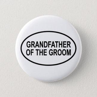 Farfar av brudgummen som gifta sig Oval Standard Knapp Rund 5.7 Cm